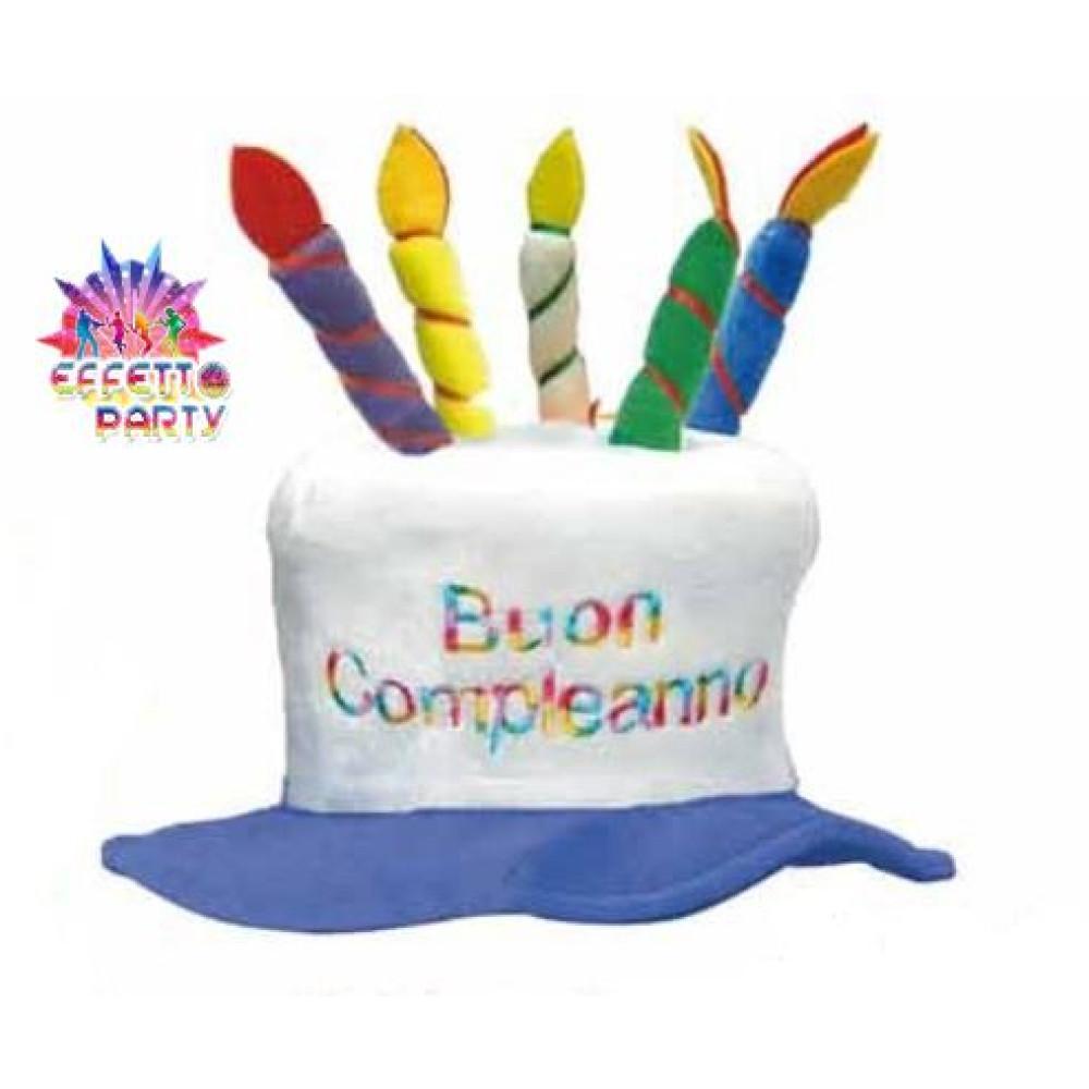 Preferenza Cappello Candeline Buon Compleanno Gadget,scherzo per festa OI72