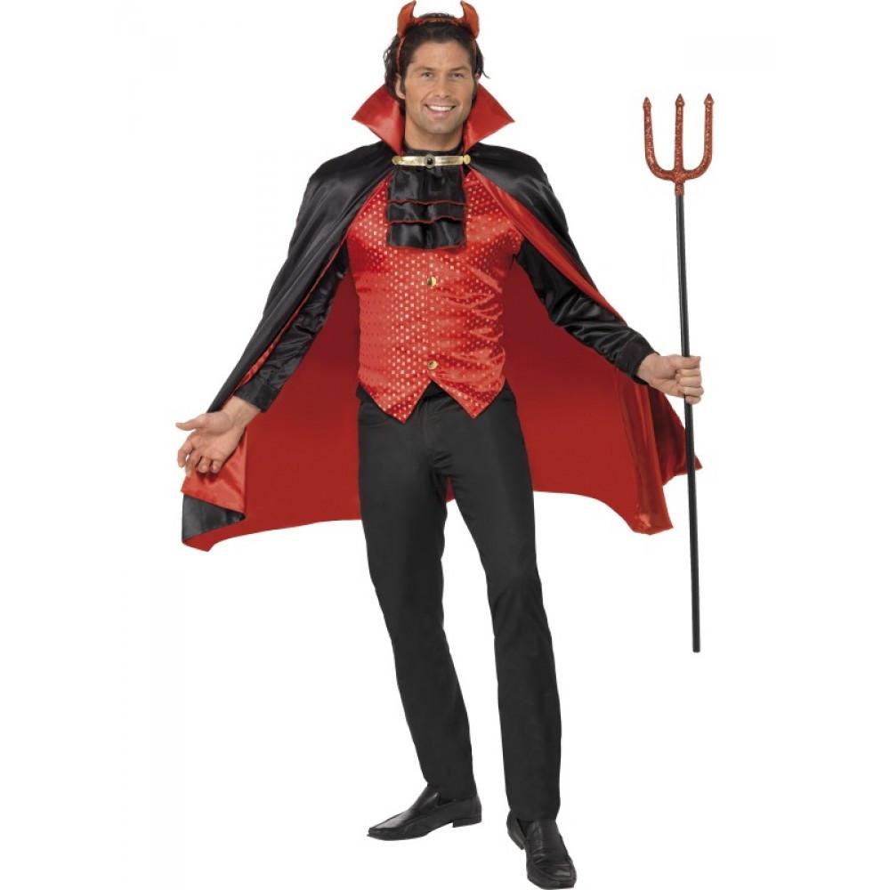 Travestimenti Halloween Uomo.Travestimento Carnevale Halloween Uomo Diavolo Costume Smiffys