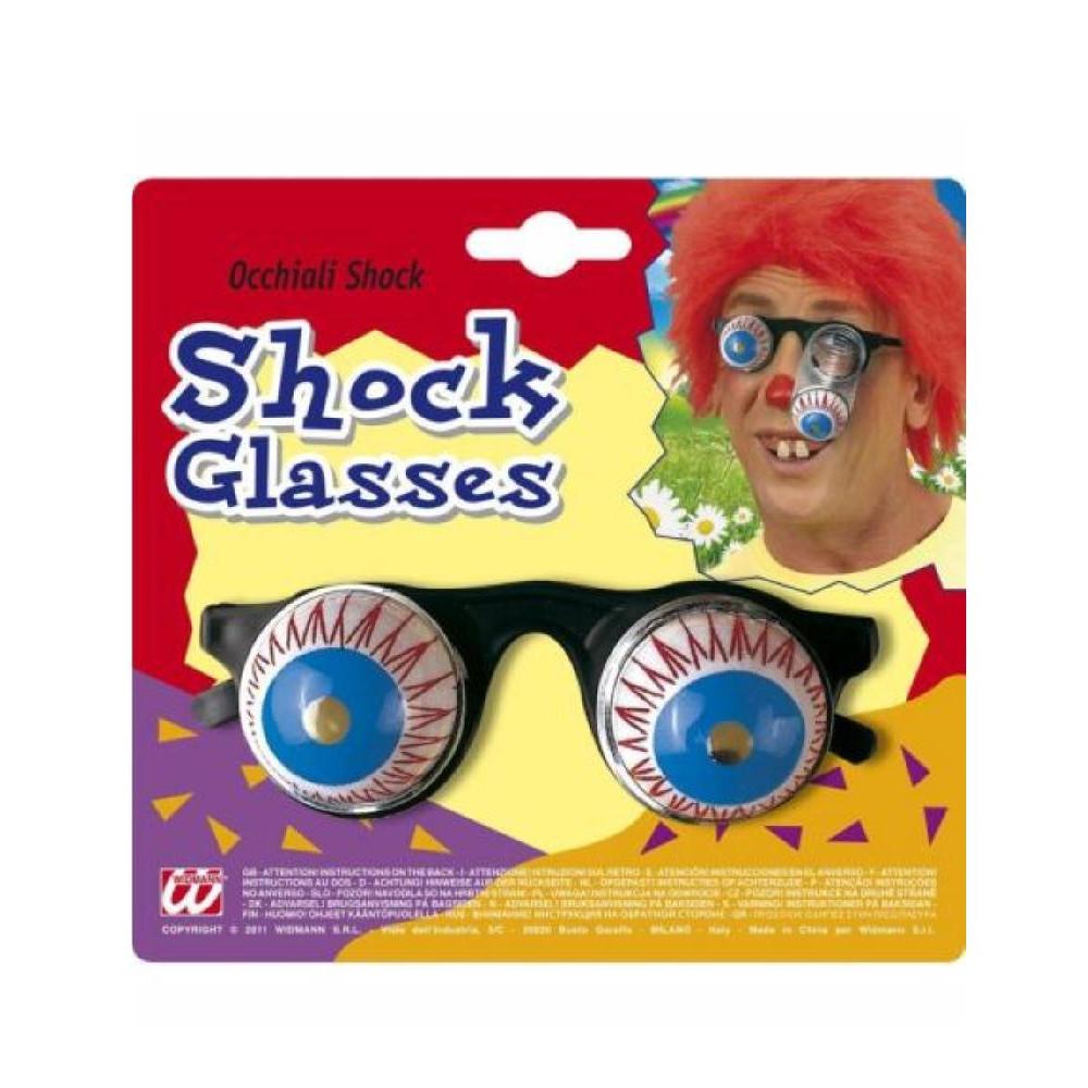 vendita online selezione speciale di in arrivo Gadget Scherzo Carnevale Occhiali Shock EP 26516 ...