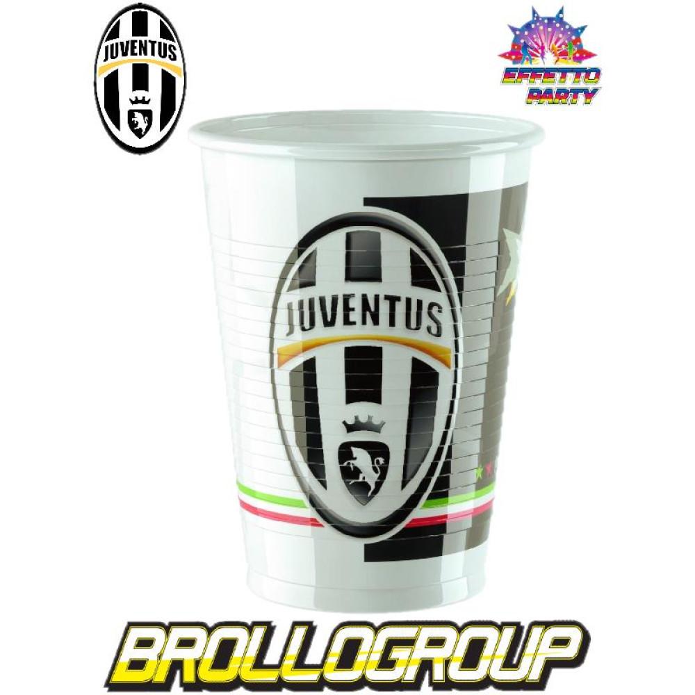 Matrimonio Tema Juventus : Accessori festa party juventus bicchieri in plastica