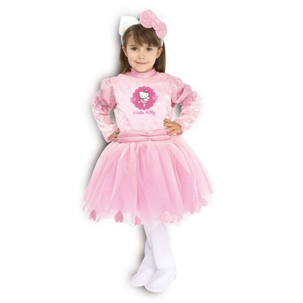 ... Costume Carnevale Bimba Hello Kitty Abito Ballerina Classica *12387