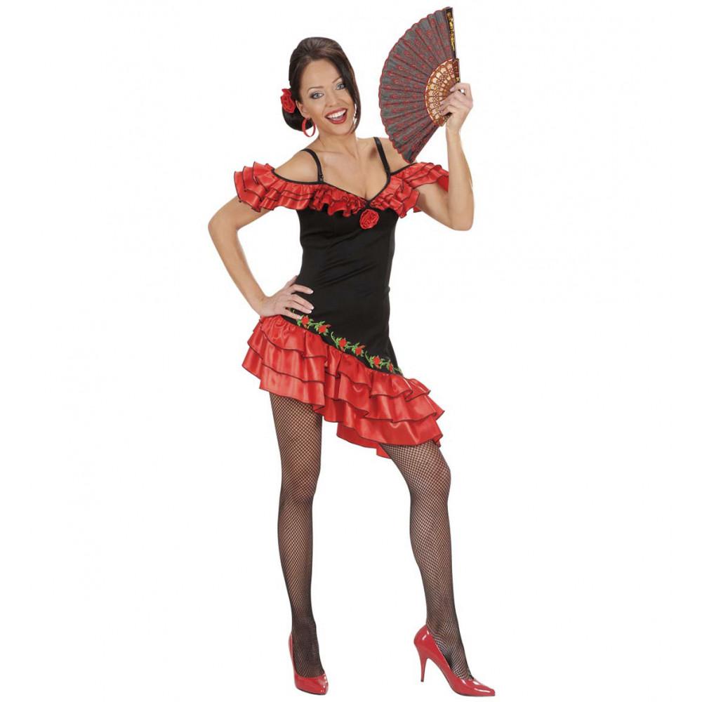 0b0b55c9232f3 Vestito Carnevale Donna Costume Spagnola EP 22836 pelusciamo Store  Marchirolo
