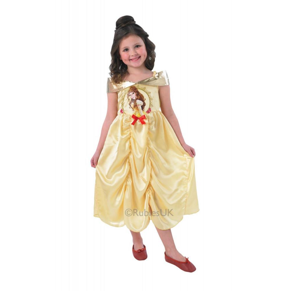 promo code 40e1e 65a8e Travestimento Carnevale Bimba Principesse Disney, vestito ...