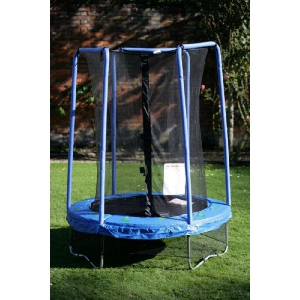 Saltarello tappeto elastico da esterno gioco per bambini for Cancelletto bambini da esterno