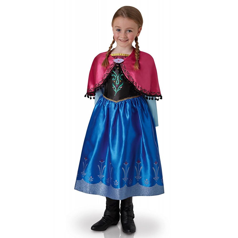 7b846d14aa7f Costume Carnevale Bambina Principesse Disney Frozen Anna 05205 ...