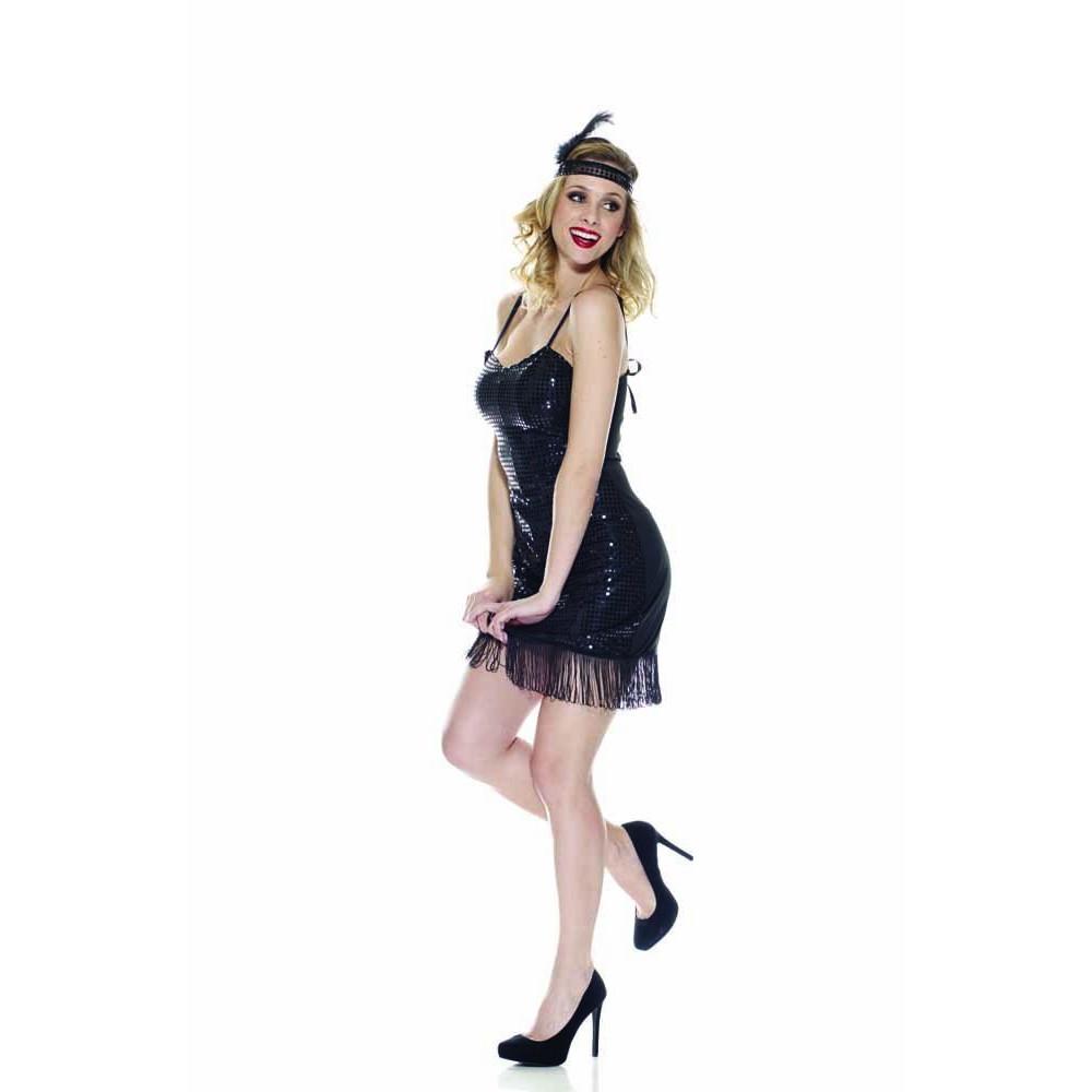 31bb07feef1b Costumi Carnevale Donna Charleston Anni 20 vestito da ballo *05279