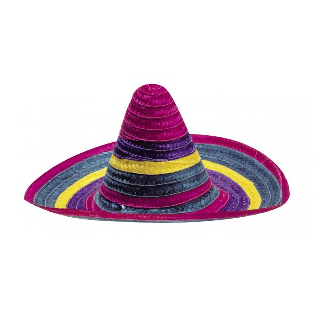 Costume Carnevale uomo Cappello sombrero messicano  01690 pelusciamo store 57946ee4a421