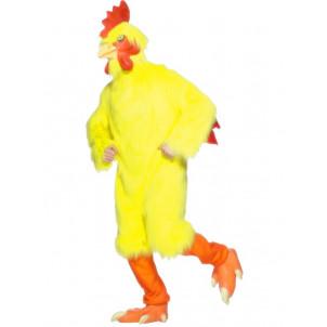 Costume Carnevale uomo Gallo travestimento chicken  smiffys *07414 effettoparty.com