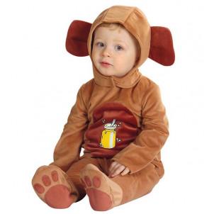 Travestimento bambino orsetto in peluche Costume Carnevale orso *19965 effettoparty store
