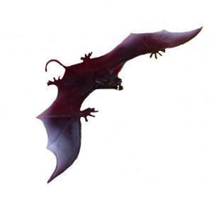 Accessori da arredo Halloween -  Pipistrello nero   Pelusciamo.com