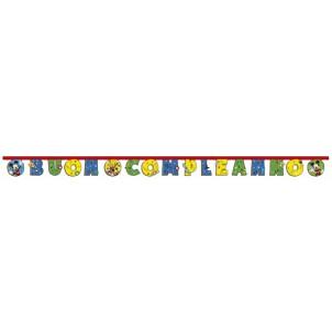 Accessori Festa Compleanno Cattivissimo Ghirlanda Topolino  | Effettoparty.com