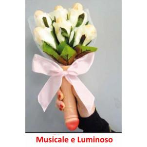 Bouquet Musicale e Fluo con Willy, Scherzo Festa  Addio al Nubilato | Pelusciamo.com