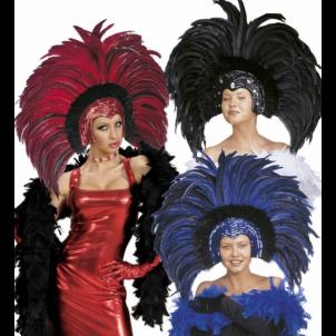 Copricapo Brasiliano a Piume , Accessorio Carnevale Brazil  | Effettoparty.com