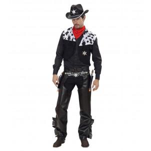 Costume Carnevale Adulto CowBoy , serie Far West  | Pelusciamo store