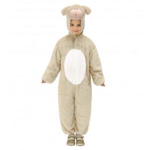 Vestito Bambino da Agnellino o Pecorella, Travestimento Carnevale Animale | Effettoparty.com