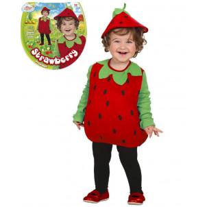 Costume Carnevale Bimbo, Frutta Fragola, Fragolina | Pelusciamo.com