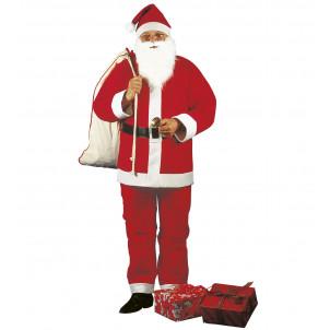Costume carnevale abito santa claus vestito Babbo Natale  *01460 effettoparty.com