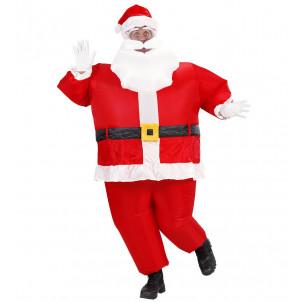 Costume Adulto Babbo Natale Gonfiabile    effettoparty.com