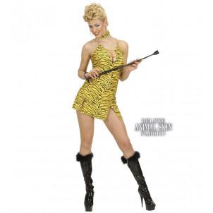 Abito Carnevale , Vestito Donna Tigre Sexy   | Effettoparty.com
