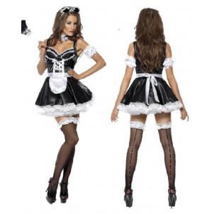 Costume Carnevale Donna Sexy Cameriera, French Maid