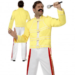 Freddie Mercury Travestimento Giacca e Pantaloni EP 08476 Effettoparty Store Marchirolo