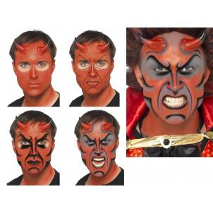 Make Up Trucco Halloween Carnevale Diavolo Demonio accessorio Smiffys