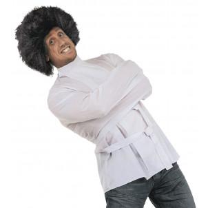Costume Camicia di forza, travestimento adulto detenuto pazzo | pelusciamo.com