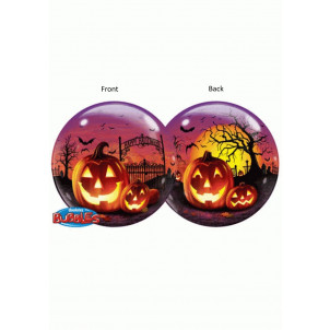 Palloncino Bubbles 52 cm   Notte Party Halloween *11307