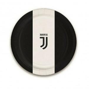 Accessori Festa  Party Juventus Fc, Piatti Carta 23 cm  | Effettoparty.com