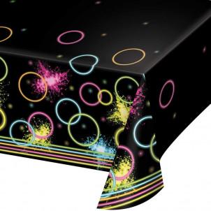 Accessori Festa Compleanno  Tovaglia Fluo Glow   | Effettoparty.com