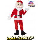 Travestimento natalizio Mascotte Babbo Natale *01217 pelusciamo store costumi carnevale effettoparty.com