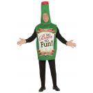 Costume Carnevale Adulto bottiglia di Birra no beer no fun *00128