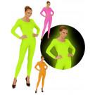 Body Calzamaglia Fluo Neon Accessori Carnevale EP 26544 Effetto Party Store marchirolo