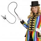 Frusta Nera 180 cm Accessori Costume Carnevale EP 26481 Effettoparty Store Marchirolo