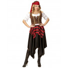 Costume Carnevale Donna Pirata Travestimento Pirati PS 26241 Effetto Party Store marchirolo