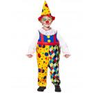 Costume Carnevale Clown Travestimento Pagliaccio EP 26375 Effetto Party Store marchirolo
