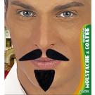 Pizzetto con Baffi  Accessori Carnevale Pirata, Arabo | Effettoparty.com
