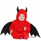 costume halloween bambino piccolo, piccoli mesi diavoletto