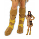 Copristivali Indiana Accessori Carnevale Donna Indiani Far West EP 19856 Effettoparty Store Marchirolo