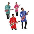 Costume Carnevale Adulto Musicista, Anni 60, Gruppo Musicale PS 19923