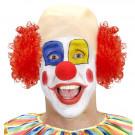 Calotta da Clown Capelli Ricci Rossi EP 26453 Parrucca Carnevale Pelusciamo Store marchirolo (Va)
