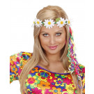 Coroncina Fiori Margherite Hippie anni 60 Accessori Carnevale PS 20640