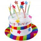 Cappello Torta Happy Birthday Accessori Party Compleanno EP 26464 Effettoparty Store Marchirolo