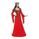 Costume Halloween Carnevale Donna Lady Medioevo '500 smiffy's