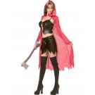 Costume Carnevale Sexy Cappuccetto Rosso halloween Rebel *12544 effettoparty.com