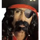 Set Barba e Baffi Pirata  Accessori Costume Carnevale |  Pelusciamo Store Marchirolo