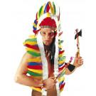 Copricapo Piume Indiano Accessorio Costume Carnevale EP 05252