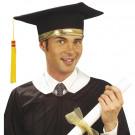 Cappello Festa di Laurea Bordo Oro Pileo Tocco EP 03836 Effettoparty Store Marchirolo