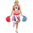 Costume Carnevale Ragazza Pom-Pom Cheerleader EP 22944 Effettoparty store marchirolo