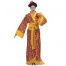 Costume Carnevale Geisha  Kimono Giapponese EP 25866 Pelusciamo Store Marchirolo